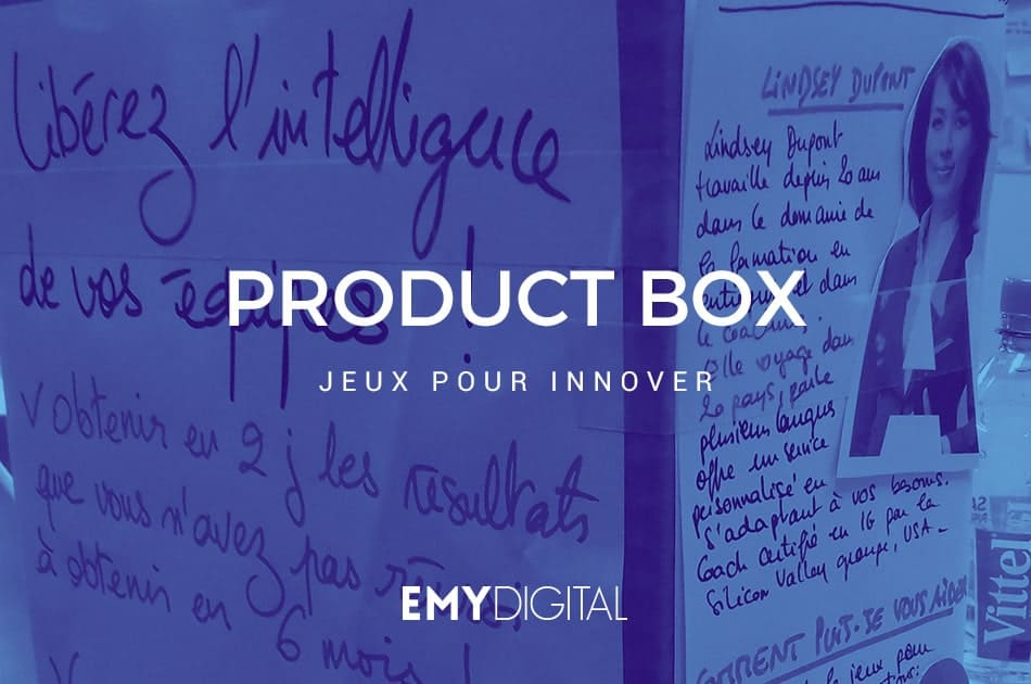 Product box, jeux pour innover