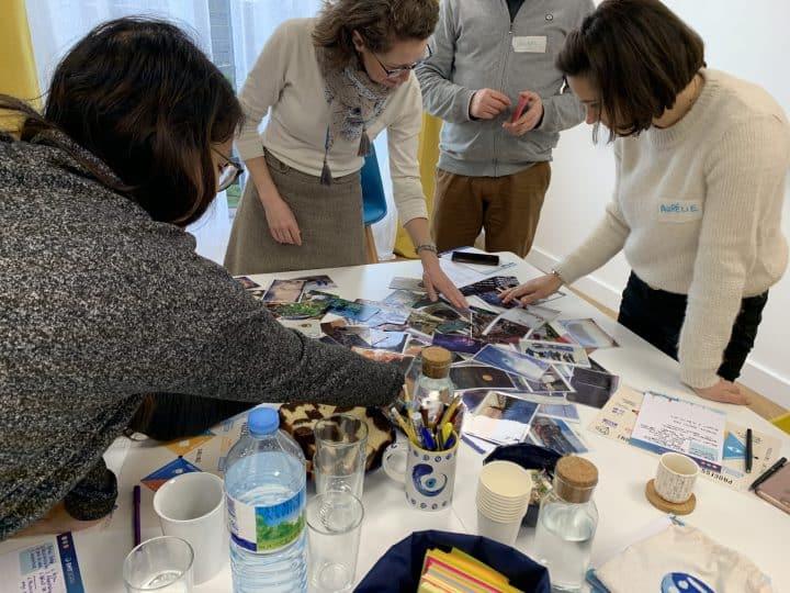 Focus group avec activité photolangage dans les locaux d'Emy Digital à Bordeaux