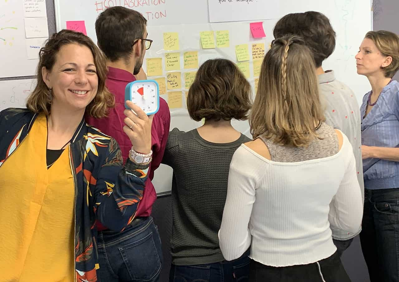 Formation Facilitation d'ateliers Design Thinking 21h