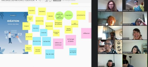 Creder : Formation Design Thinking et Facilitation d'ateliers Design Thinking pour mieux accompagner avec la co-création.