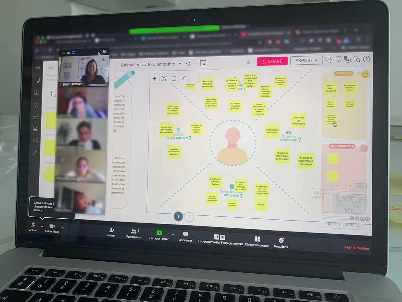 Formation Animation d'ateliers collaboratifs à distance avec les outils numériques