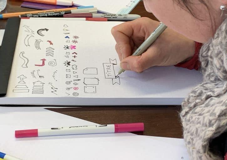 Formation Sketchnote prises de notes visuelles